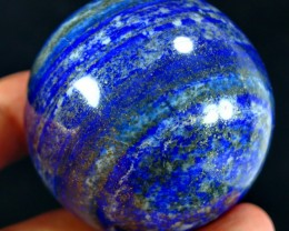 1404 CT Natural lapis  lazuli Carvid Ball Stone Special Shape