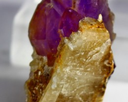 122 ct Unheated ~ Natural Purple color Amethyst Crystal