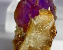 122 ct Unheated ~ Natural Purple color Amethyst Crystal