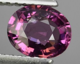 1.10 CTS  EXTREMELY FINE FIRE NATURAL  RHODOLITE  NR☆☆☆