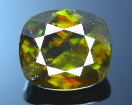 AAA Color 14.20  ct Chrome Sphene from Himalayan Range Skardu Pakistan SKU.