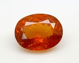 3.85CT ULTRA RARE CLINOHUMITE OF TAJIKISTAN IGCRC02