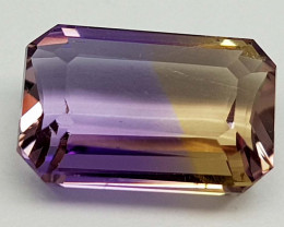 6.65CT BOLIVIAN AMETRINE BEST QUALITY STONES IGCAMCB09