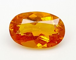 1.2CT ULTRA RARE CLINOHUMITE OF TAJIKISTAN IGCRC10