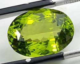 8.65 Crt Natural Amazing Peridot Gemstone From Pakistan
