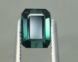 1.09 Cts Untreated Indicolite Tourmaline Awesome Color ~ Afghanistan Pk12