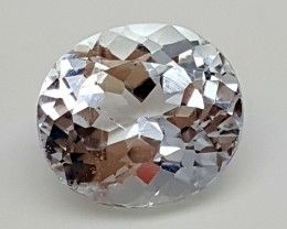 3.70Crt Aquamarine Best Grade Gemstones JI 48