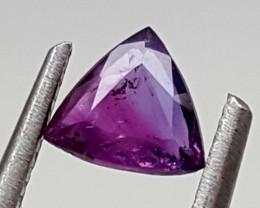 0.40Crt Kashmir Sapphire bi Color Best Grade Gemstones JI 48