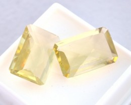 19.095 ct Matched Set of Citrine     JC