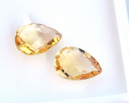 3.490 ct Matched Set of Yellow Citrine     JC