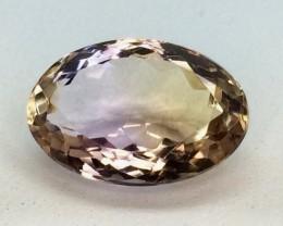 5.66 Crt Natural Ametrine Faceted Gemstone (992)