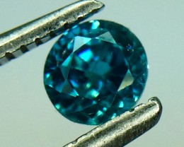 0.65 Crt Natural Zircon Faceted Gemstone (992)