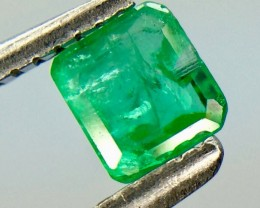 0.36 Crt Natural Emerald Faceted Gemstone (992)