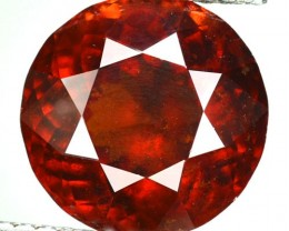 Nice Round 15.04 Cts Natural Cinnamon Orange Hessonite Garnet Srilanka Gem