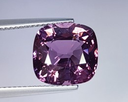 7.23 ct Exclusive Purple Pink Cushion Cut Natural Spinel