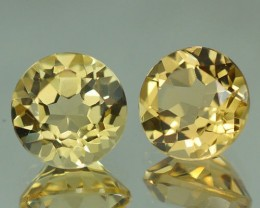 8X8 MM AAA QUALITY YELLOW BERYL  - YB18