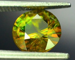 AAA Color 1.30 ct Chrome Sphene from Himalayan Range Skardu Pakistan