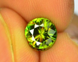 AAA Color 1.25 ct Chrome Sphene from Himalayan Range Skardu Pakistan