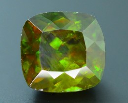 AAA Color 6.48  ct Chrome Sphene from Himalayan Range Skardu Pakistan SKU.1