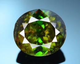 AAA Color 8.25 ct Chrome Sphene from Himalayan Range Skardu Pakistan SKU.15