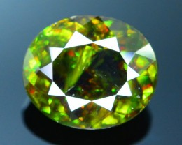 AAA Color 5.69 ct Chrome Sphene from Himalayan Range Skardu Pakistan SKU.15