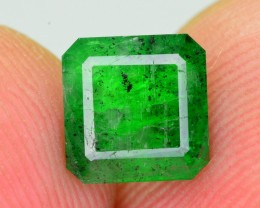 1.05 Ct Ravishing Color Natural Swat Emerald ~ RA