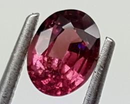 1 Ct RHODOLITE  GARNET Best Grade Gemstones JI 49
