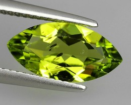 2.80Cts High Best Natural Apple Green Marqise Pakistan Peridot NR!!!