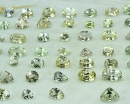 610 carats Natural Triphane Gemstones Parcel