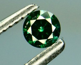 0.14 Crt Natural  Green Diamond  Faceted Gemstone (993)
