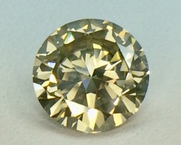 2.13 Crt Natural  Daimond Faceted Gemstone (D 10)