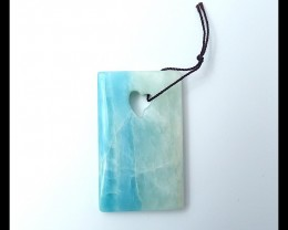 113ct  Natural Amazonite Pendant (18051605)