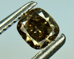 0.30 Crt Natural Fancy Daimond Top Luster Gemstone (D 04)