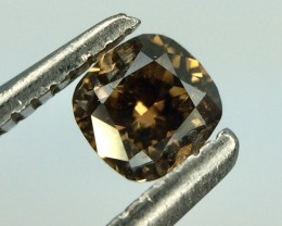 0.30 Crt Natural Fancy Daimond Top Luster Gemstone (D 07)