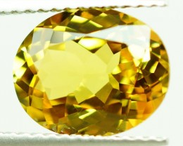 3.34 ct GIA CERTIFED !!NATURAL YELLOWISH GREEN CHRYSOBERYL