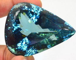 600 Ct Huge Size Natural Bluish Green Spodumene Gemstone