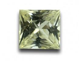 Natural White Sapphire with yellow tinted  |Loose Gemstone|New| Sri Lanka