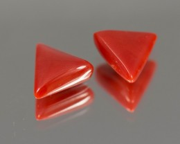 GIT Red Coral 6.52 ct Japan