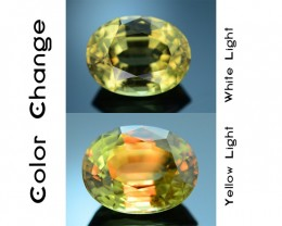 AAA Grade Diaspore 5.0 ct Turkish Color Change SKU.5