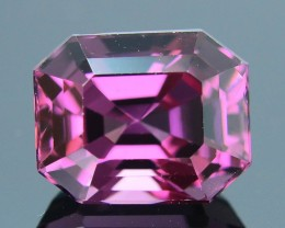 AAA Grade Spinel 3.53 ct Purplish Pink Beautifully Cut frm Burma SKU.3
