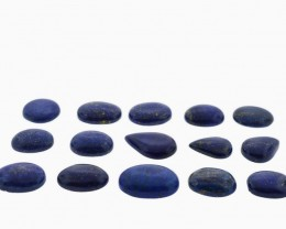 528 cts 16 st Lapis Lazuli  Mix Shape Cab Wholesale Lot