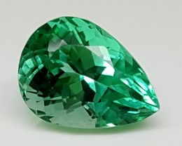 3.95 Cts GREEN SPODUMENE Best Grade Gemstones JI 51