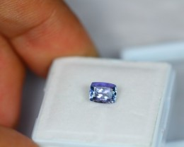 1.03ct Natural Greenish Blue Tanzanite Octagon Cut Lot GW1408