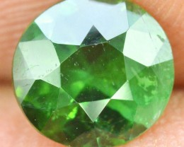 No Reserve - 1.35 cts Round Cut Mint Green Beautifull Green Afghan Tourmali