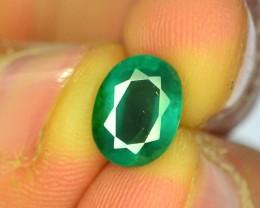 2.00 ct Natural Zambian Emerald
