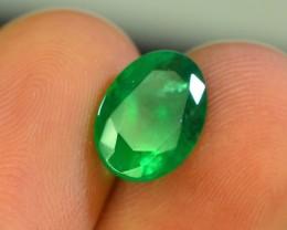 Top Color 2.30 ct Natural Emerald