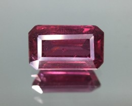 1.48 Cts Natural Cherry Red Garnet Awesome Color ~ Africa Pk16