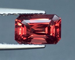 1.80 Cts Untreated Red Spinel Excellent Color ~ Burma