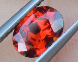 1.17cts  Spessartite Garnet,  Untreated Vivid Stone,  Clean