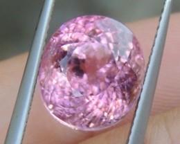 8.00cts Bublegum PinkTourmaline,  Untreated,  Clean